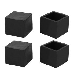 Chair Leg Floor Protector Dining Chairs Contemporary 25mmx25mm Square Protectors Table Feet Tips Covers Caps 4pcs