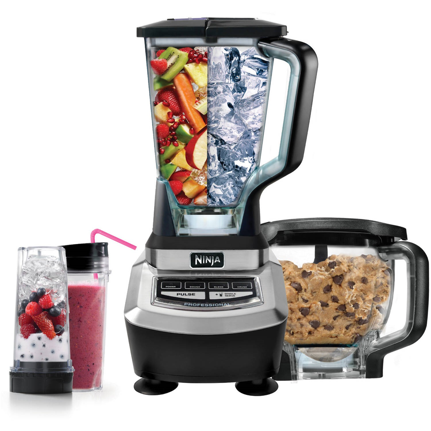 Ninja Supra Kitchen Blender System with Food Processor and