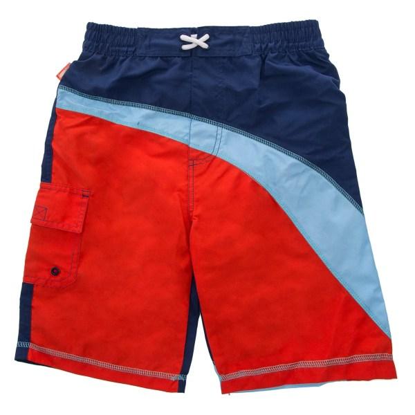 Coppertone Kids Boys Swim Trunks Uv Protection Cargo Board