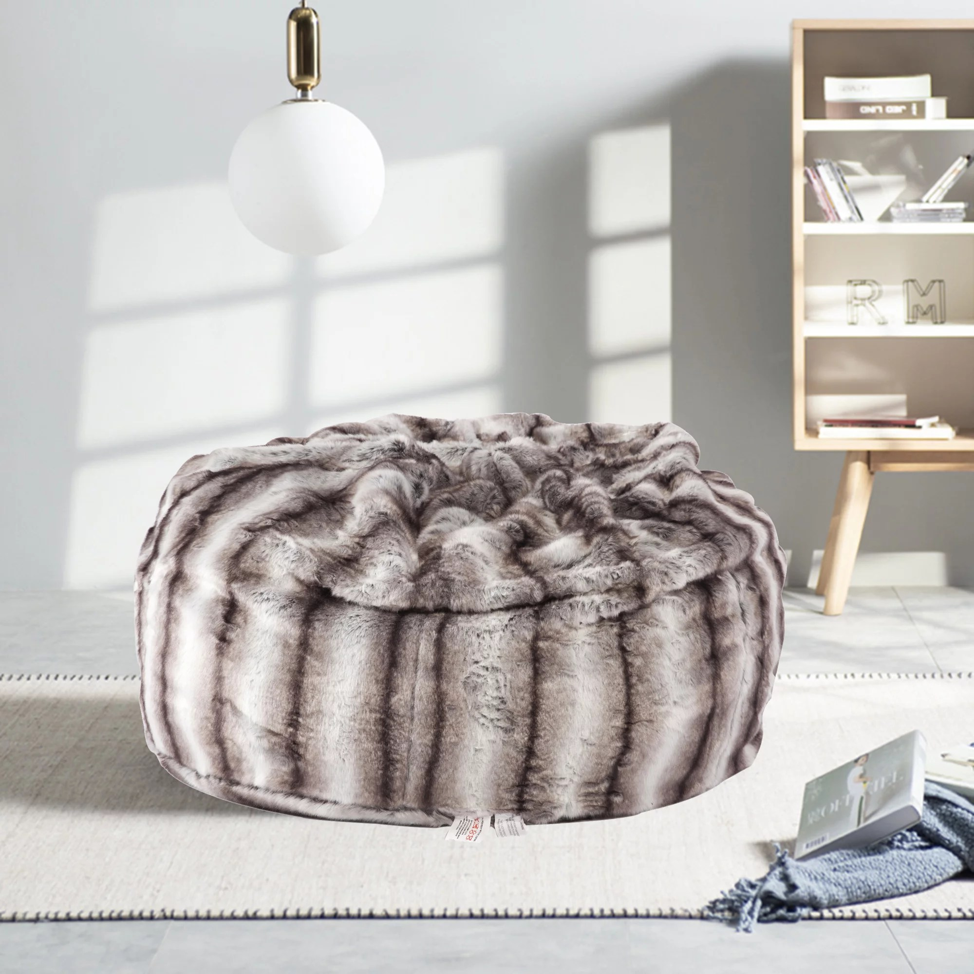 beanless sofa air chair eero saarinen karmas product faux fur bean bag luxury and comfy big chairs plush furry