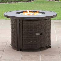 "Better Homes and Gardens Colebrook 37"" Gas Fire Pit ..."