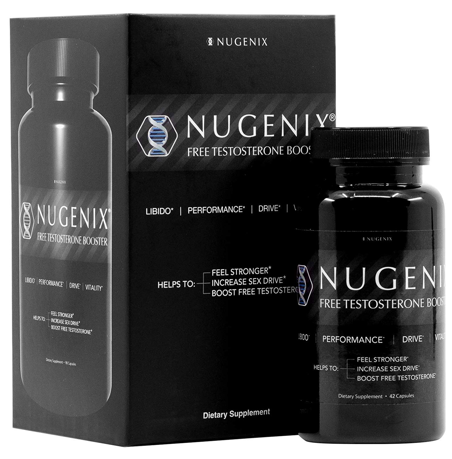 Nugenix Free Testosterone Booster for Men- High Quality ...