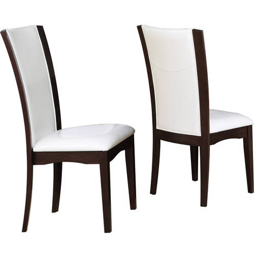 Daisy Parson Chairs  Set Of 2 White  Walmartcom