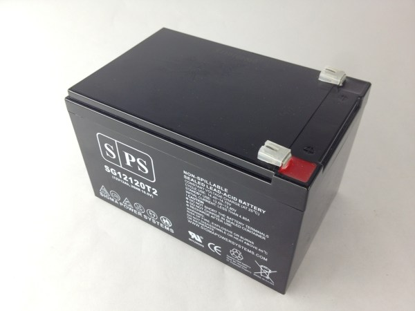 Sps Brand 12v 12ah Replacement Battery Apc Smart-ups Smt Smt1000 1 Pack