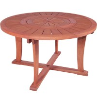 Round Table With Lazy Susan - Walmart.com