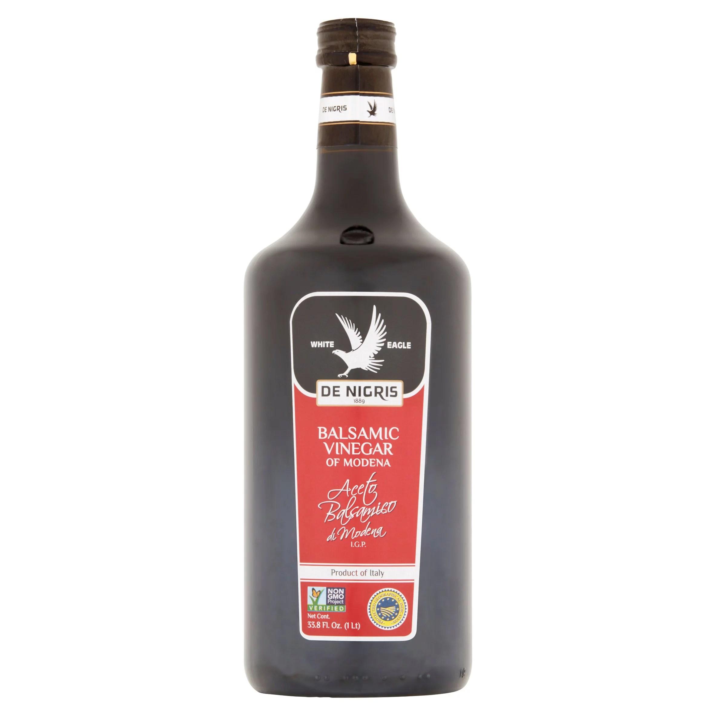 De Nigris Balsamic Vinegar of Modena 338 fl oz Walmartcom