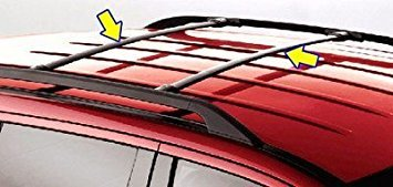 oem factory stock genuine 2013 2014 2015 2016 ford escape roof cross bars luggage rack kit