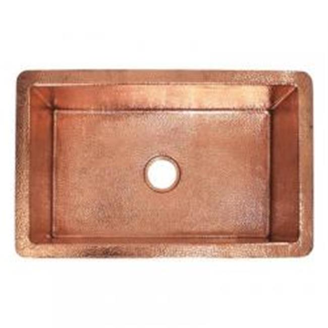 copper kitchen sink old fashioned stool with steps native trails cpk493 30 in cocina polished sinks