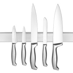 Kitchen Tool Holder Undermount Sinks Stainless Steel Magnetic Knife Bar With Multipurpose Use As Rack Strip Utensil Art Supply Organizer