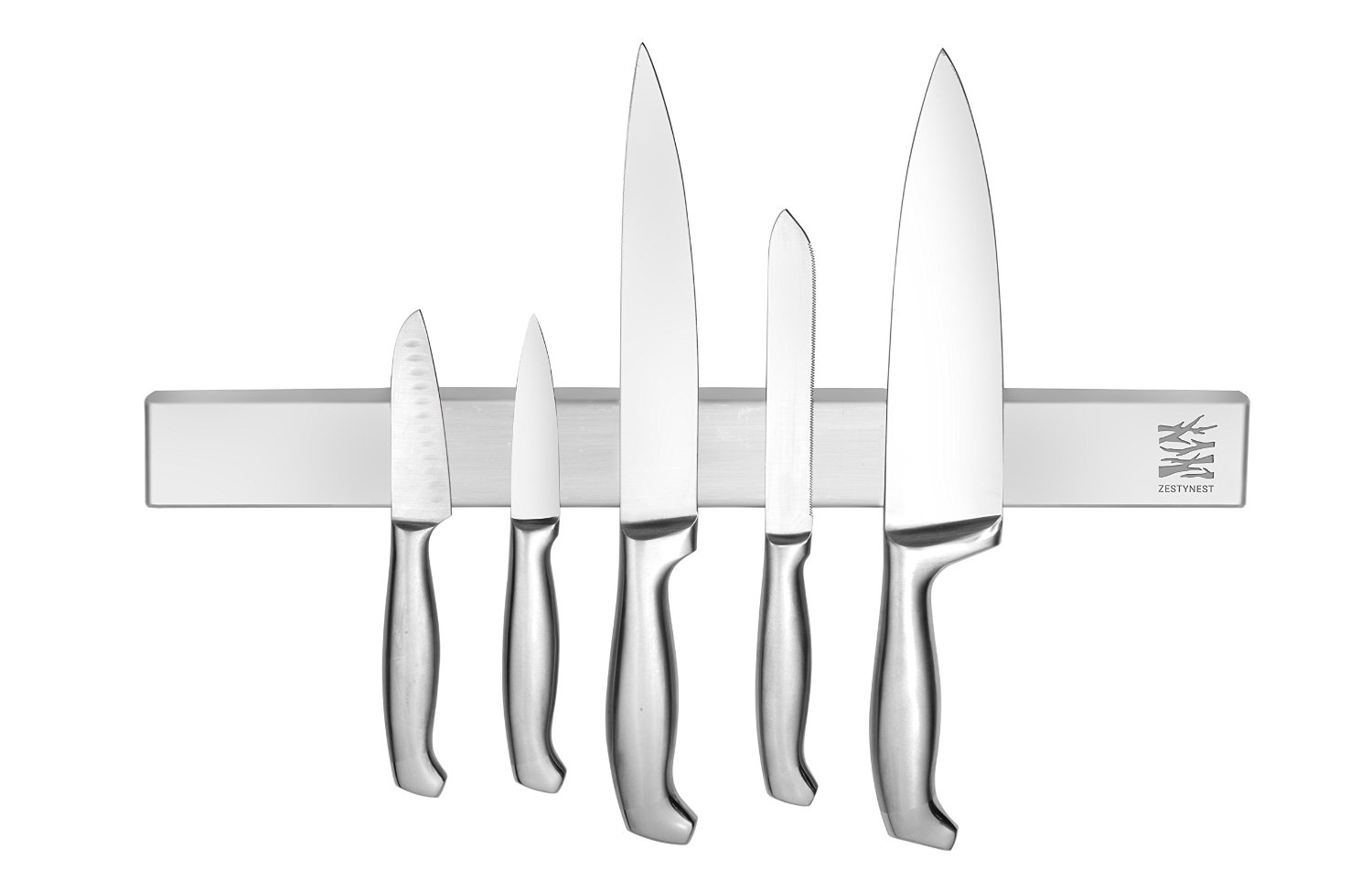 kitchen tool holder countertop materials stainless steel magnetic knife bar with multipurpose use as rack strip utensil art supply organizer