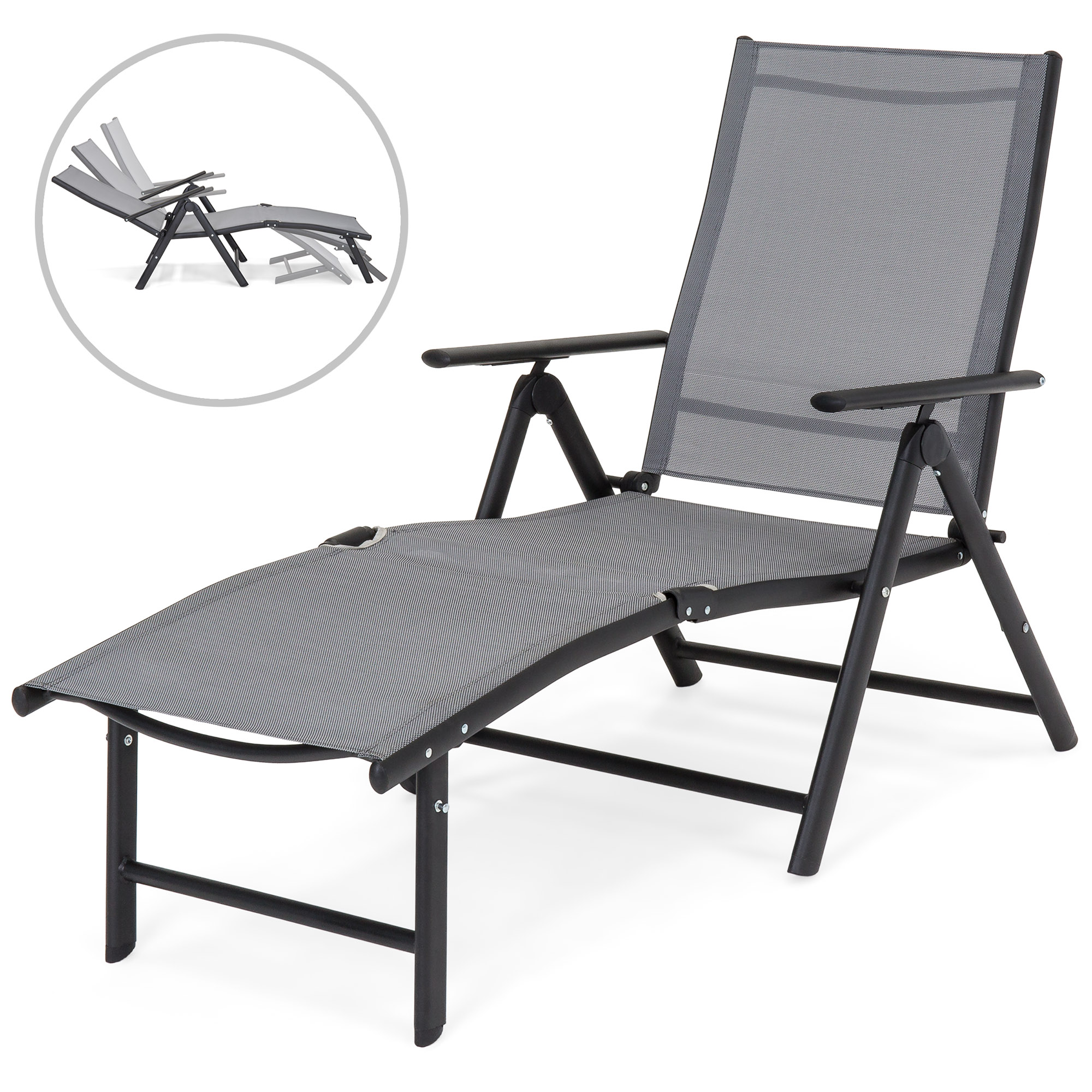 folding chaise lounge chair outdoor zanotta swivel best choice products reclining for patio poolside w