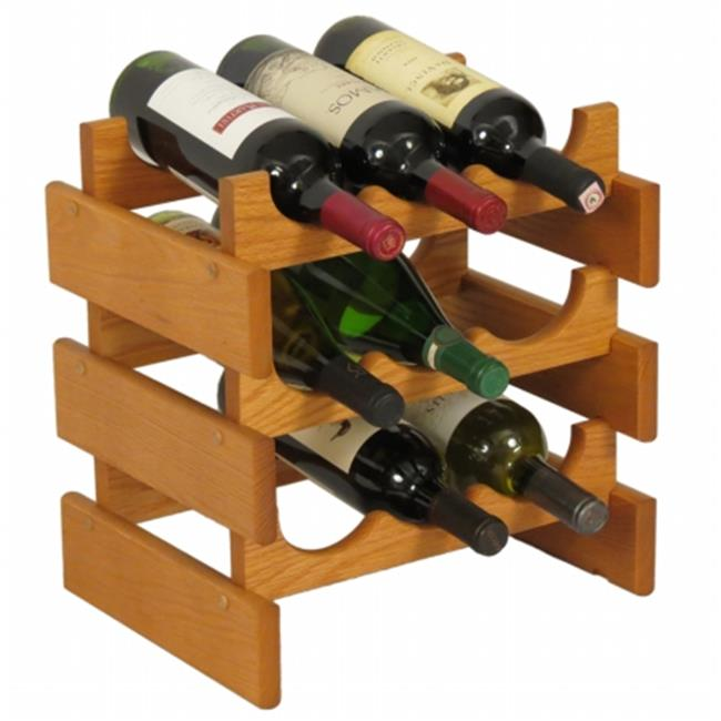 bois mallet wr33mo 9 porte bouteilles de vin dakota
