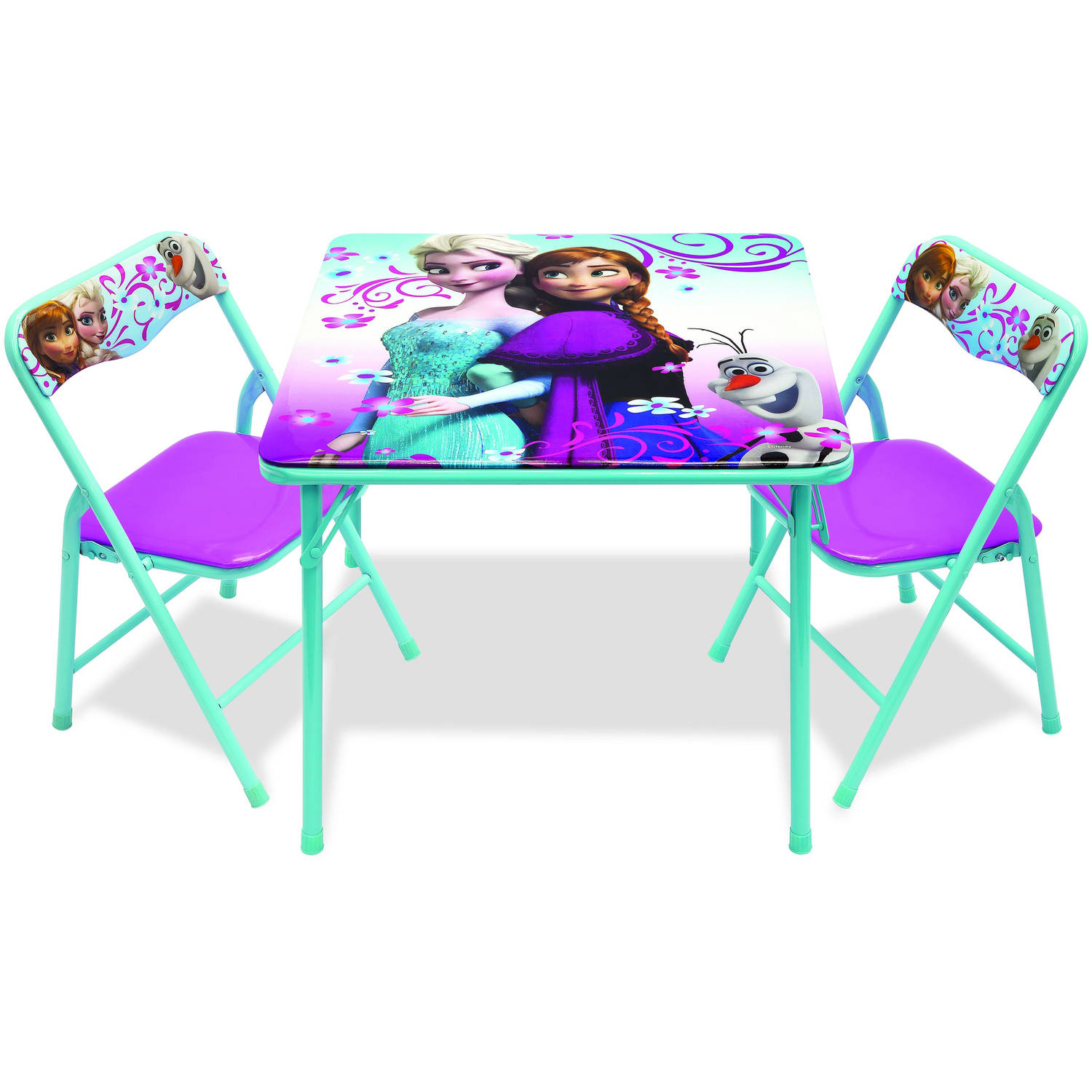 walmart tables and chairs zanotta chair covers disney frozen activity table set com