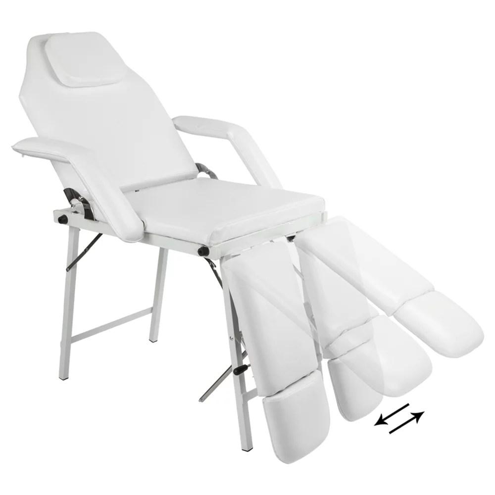 coofel 72 adjustable salon spa pedicure massage tattoo therapy bed split leg chair beauty equipment