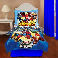 Marvel Heroes-marvel Super Hero Squad Toddler Bedding Set ...