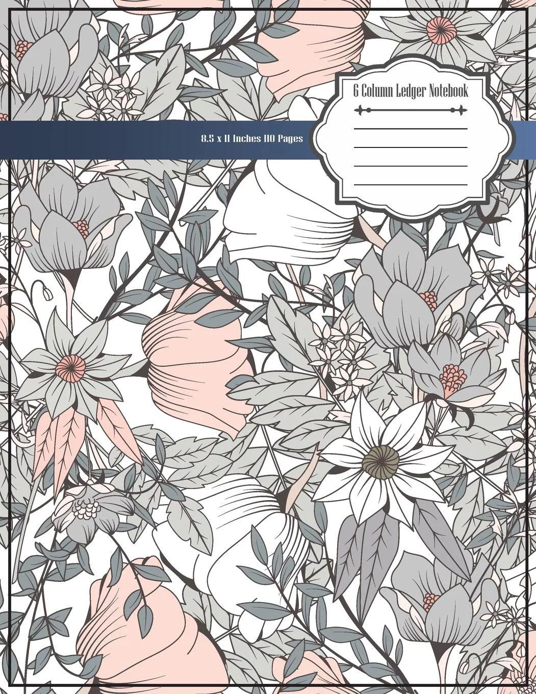 6 Column Ledger Notebook Accounting Ledger Notebook