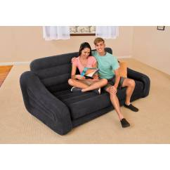 Air Mattress Chair Party Covers For Sale Inflatable Pull Out Sofa Bed Sleeper Blow Up