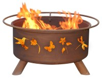 Patina Products F110 Flower and Garden Fire Pit - Walmart.com