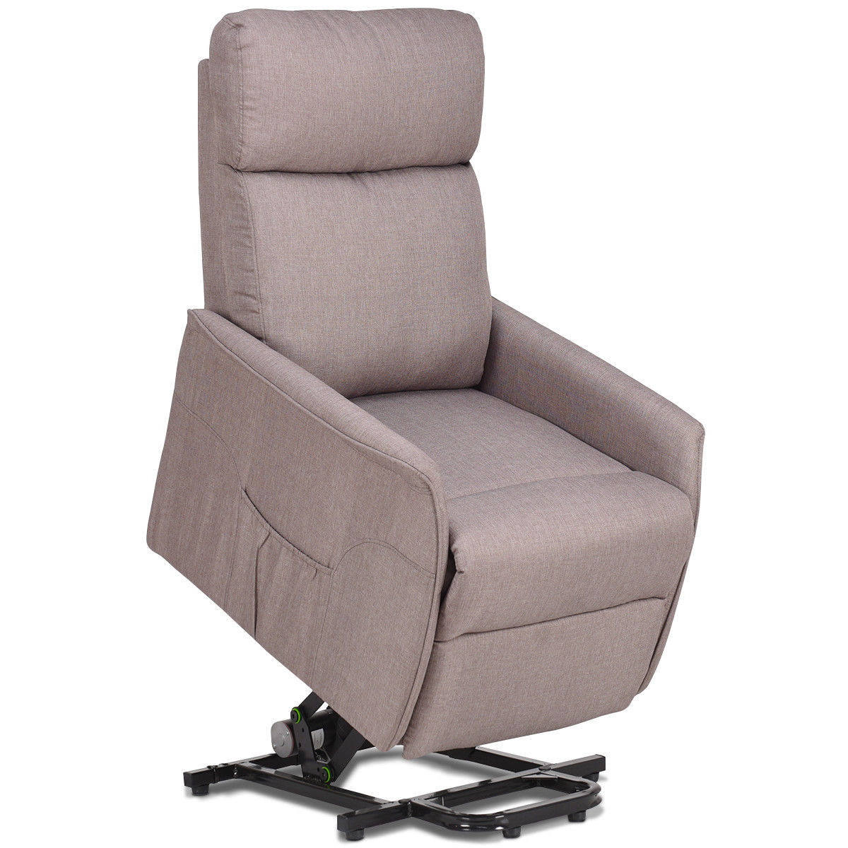 home meridian lift chair repair swivel leg caps recliners walmart com product image costway electric power recliner sofa fabric padded seat living room w remote