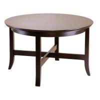 Toby Round Coffee Table, Espresso - Walmart.com