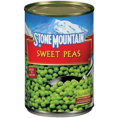 Stone Mountain Sweet Peas 15 Oz Walmart