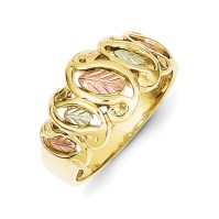 Core Gold - 10k Black Hills Gold Ladies Ring - Walmart.com