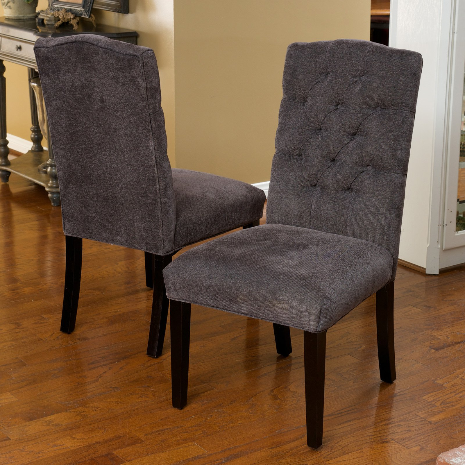 upholstered dining chairs canada chair cover hire rotorua crown top walmart com