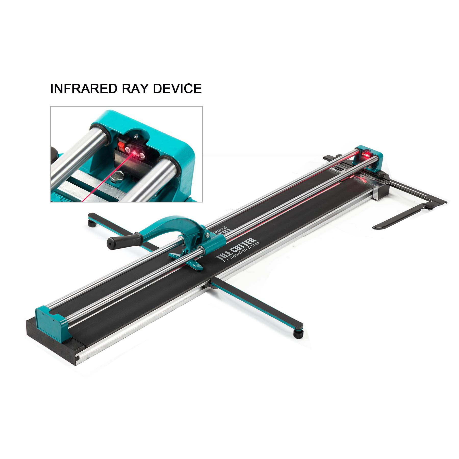 1200mm 48 manual tile cutter cutting machine durable adjustable laser guide