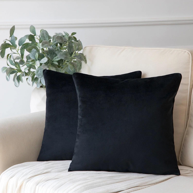 throw pillows black walmart com