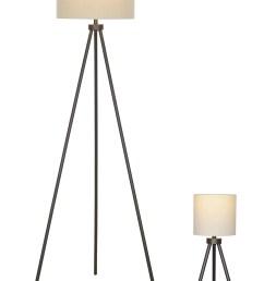 better homes gardens modern tripod table floor lamp set black finish walmart com [ 4912 x 7360 Pixel ]