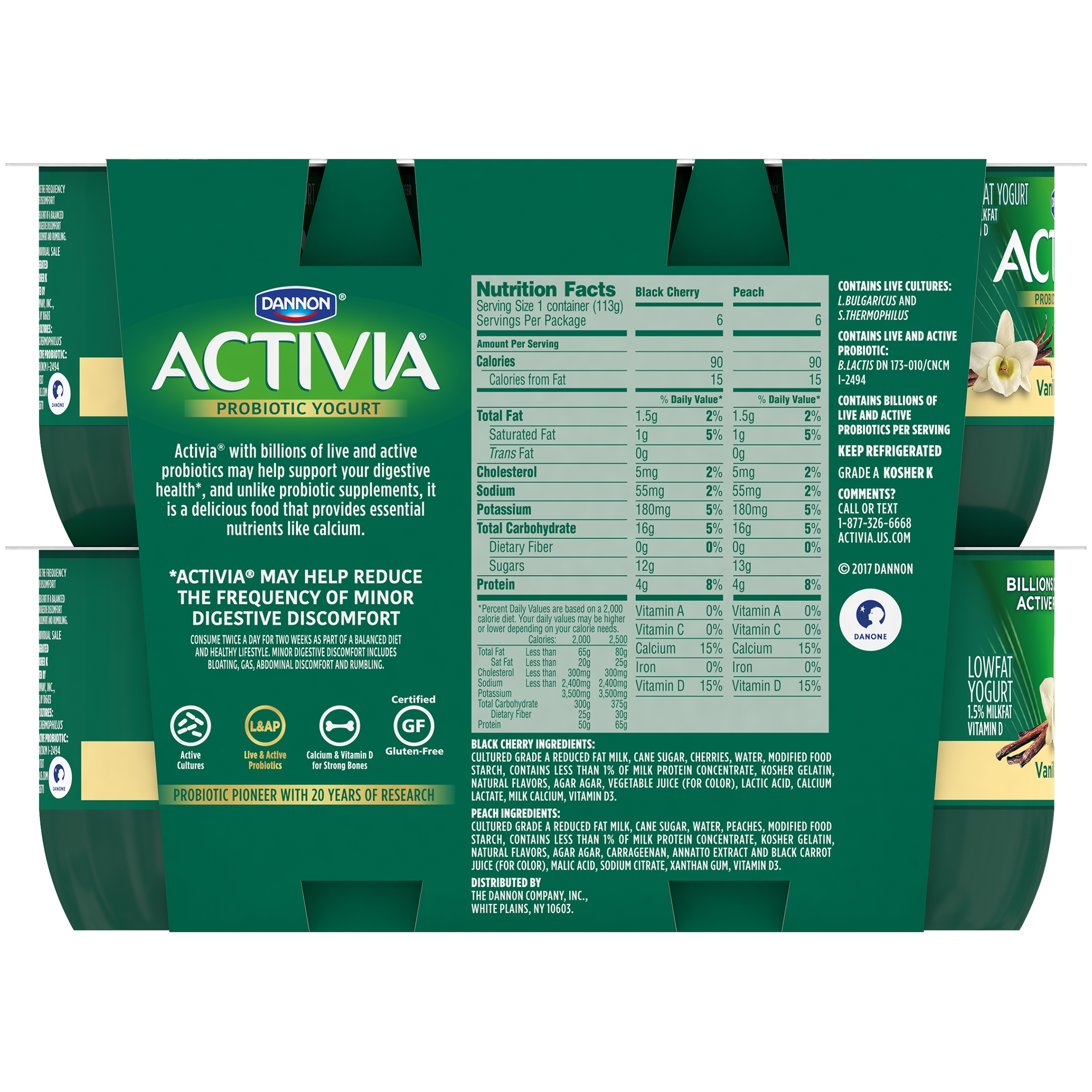 Activia Nutrition Facts Vanilla – Besto Blog