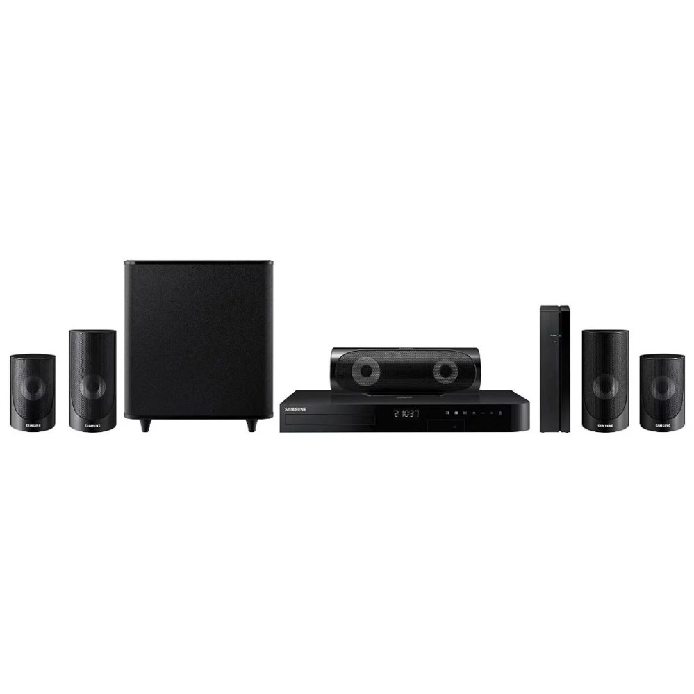 medium resolution of samsung 5 1 channel 1000w home theater system blu ray dvd player wi fi streaming ht j5500w walmart com