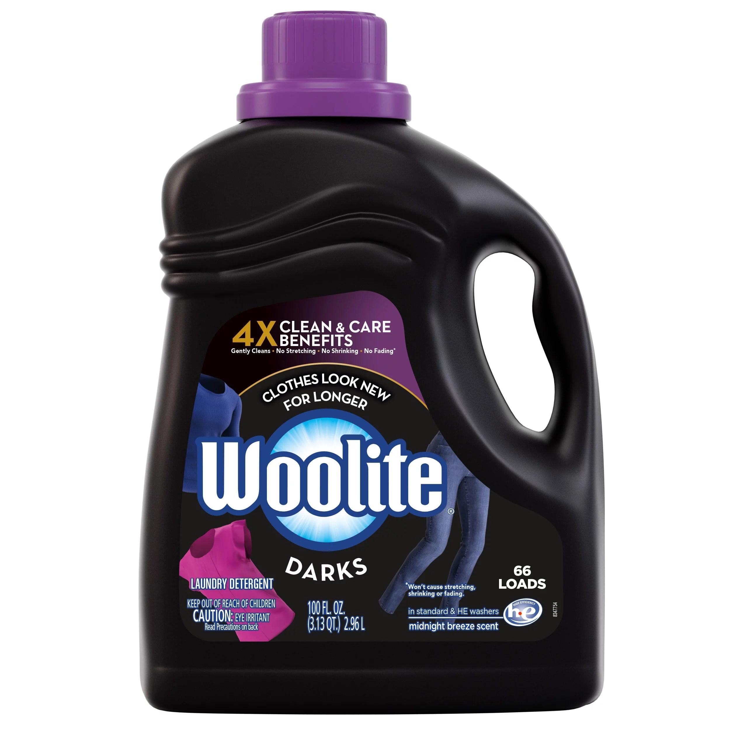 woolite darks liquid laundry
