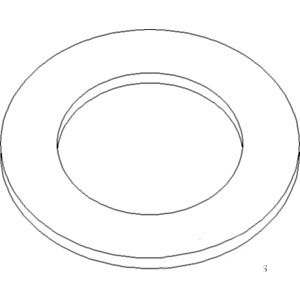 NCA99180B New Ford New Holland Fuel Filter Gasket 172 1801