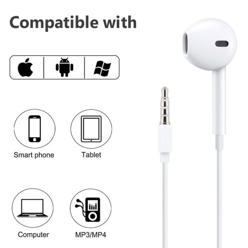small resolution of apple iphone 5 iphone 5s iphone 5c earpods with remote and mic 3 5mm md827ll a walmart com