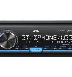 jvc kdsx24bt digital media receiver no cd s w built in bluetooth rh walmart com car stereo speaker wiring diagram jvc kd r530 wiring diagram [ 3000 x 1950 Pixel ]