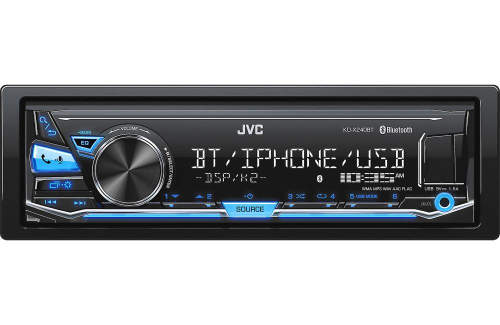medium resolution of jvc kdsx24bt digital media receiver no cd s w built in bluetooth rh walmart com car stereo speaker wiring diagram jvc kd r530 wiring diagram