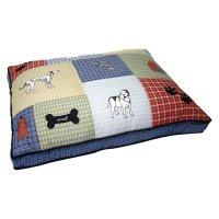 Petmate- Quilted Classic Dog Applique Dog Bed - Walmart.com