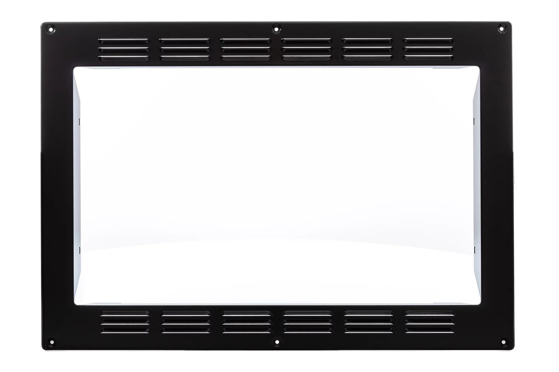 patrick industries kitb2801b microwave oven trim kit high pointe use with convection microwave oven part number ec028bmr b black