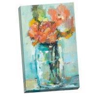 "Portfolio Canvas Decor ""Mason Jar Flowers"" by Leila Large ..."