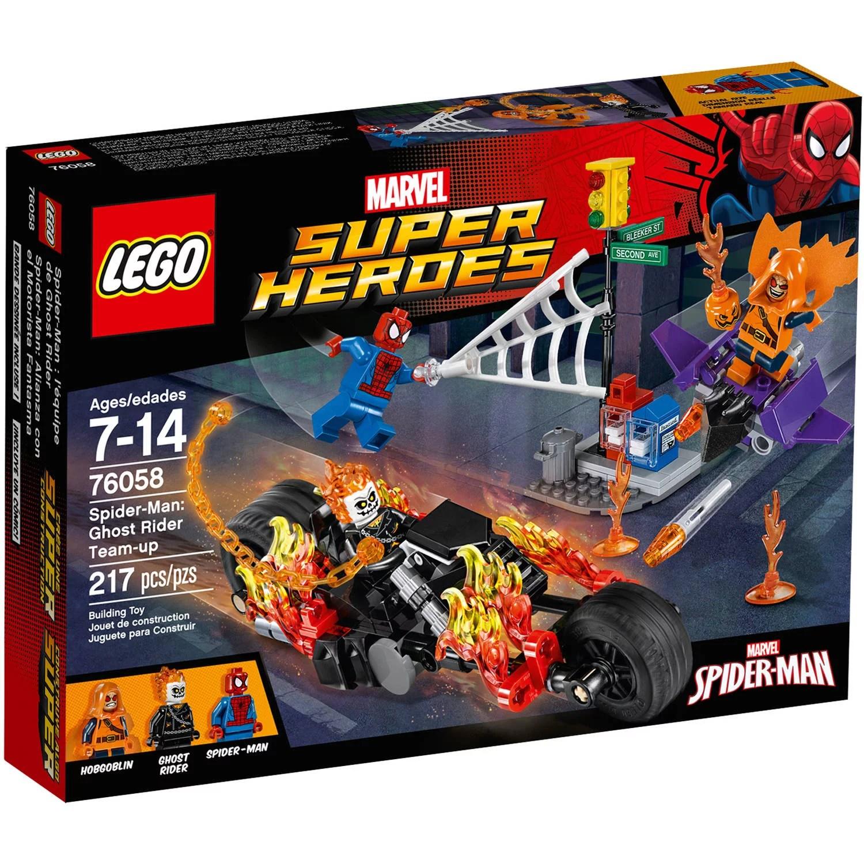 Lego Super Heroes Spider Man Ghost Rider Team Up