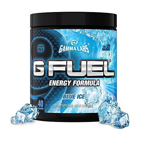 G Fuel Energy Formula Supplement Blue Ice Sugar-Free 9 ...