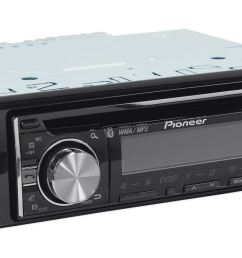 pioneer deh x6600bt cd receiver with mixtrax bluetooth android media access 2 sets rcas walmart com [ 1250 x 662 Pixel ]