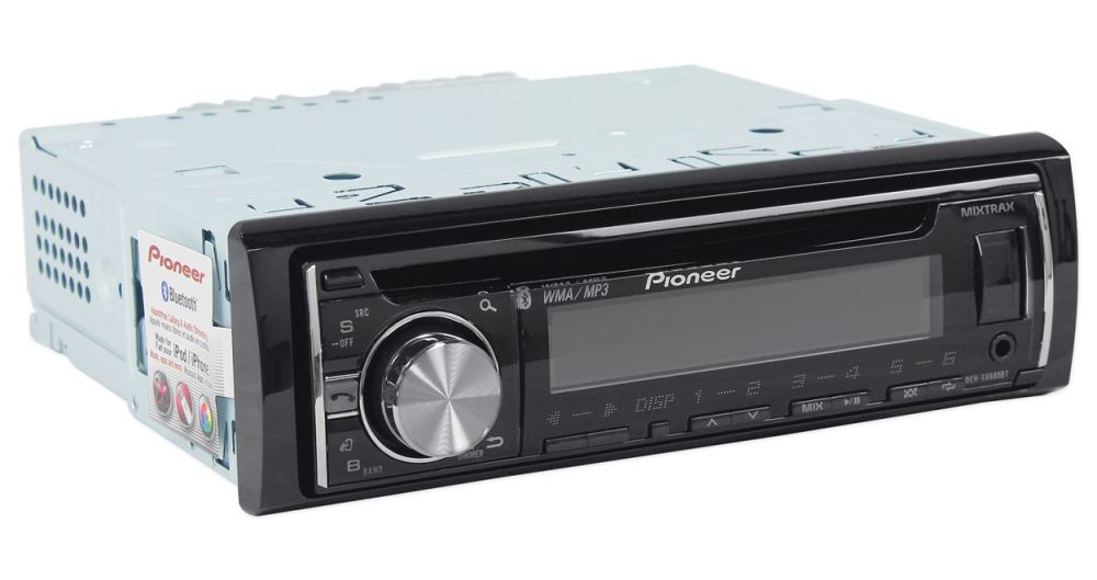 medium resolution of pioneer deh x6600bt cd receiver with mixtrax bluetooth android media access 2 sets rcas walmart com