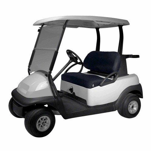 small resolution of classic fairway golf cart diamond air mesh seat cover black walmart com