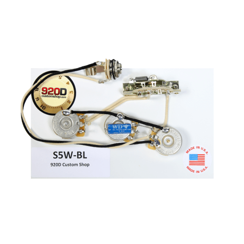 small resolution of 920d fender strat stratocaster wiring harness blender pot crl cts pio gavitt walmart com