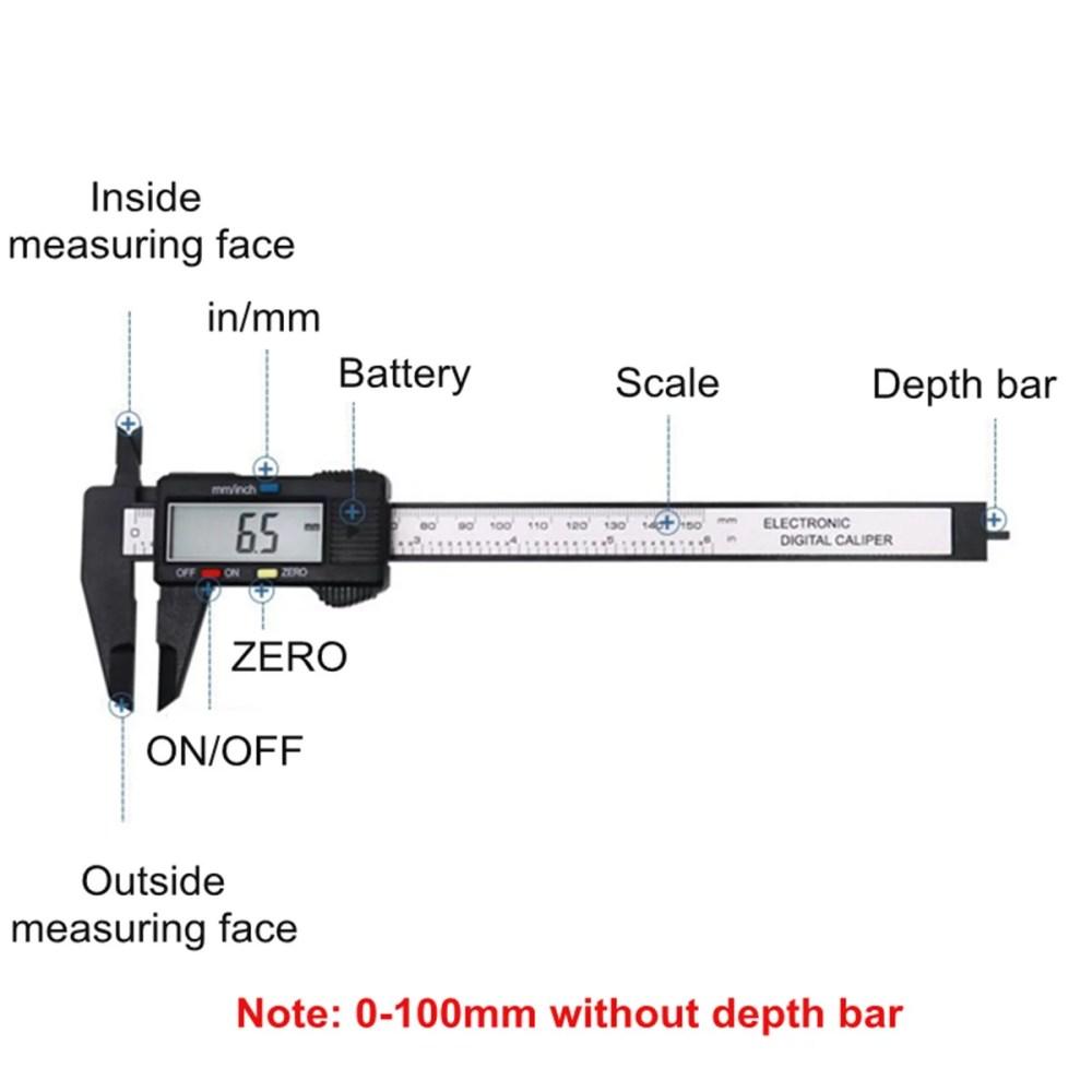 medium resolution of moaere electronic digital vernier caliper advanced onsite sensor absolute scale digital caliper 0 0005 0 01mm resolution lcd walmart com