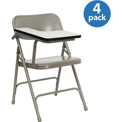 High Folding Chair Pride Mobility Lift Premium Steel With Pressure Laminate Tablet Arm Set Of Four Walmart Com