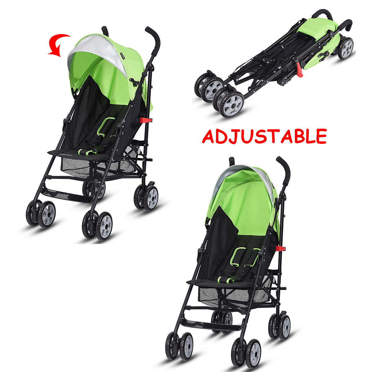 Costway Lightweight Baby Toddler Umbrella Travel Stroller