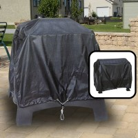Deluxe Outdoor Fireplace Cover Square All Weather ...